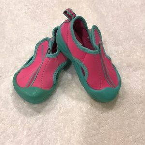 Toddler Small Pink/Aqua Speedo Water Shoes